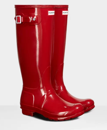 boots hunter rouge image